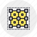 app, cluster, complex, core, data, framework, mesh icon