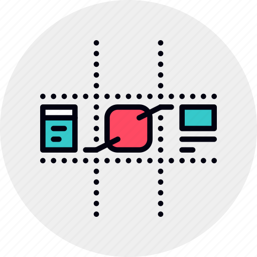 Api Application Component Design Development Framework Software Icon