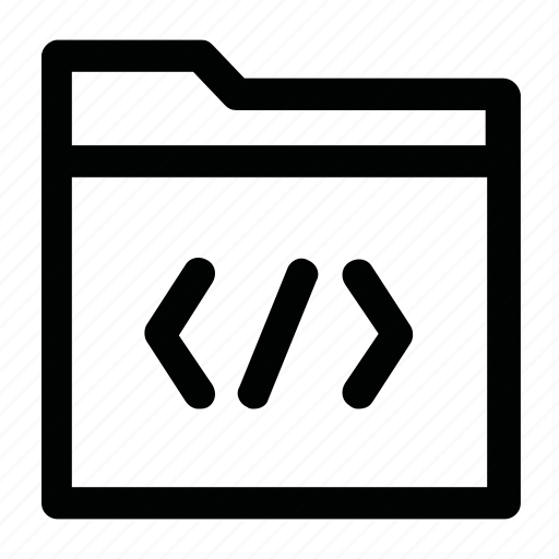 css, data, file, folder, html icon