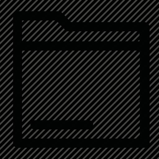 doc, file, folder, information icon