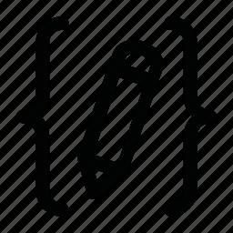 edit, gap, gaps, pencil icon