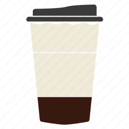 cheerfulness, coffee, coffee cup, coffee with milk, cup, drink, latte icon