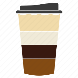 cheerfulness, coffee, coffee with chocolate, cup, drink, hot, mocha icon