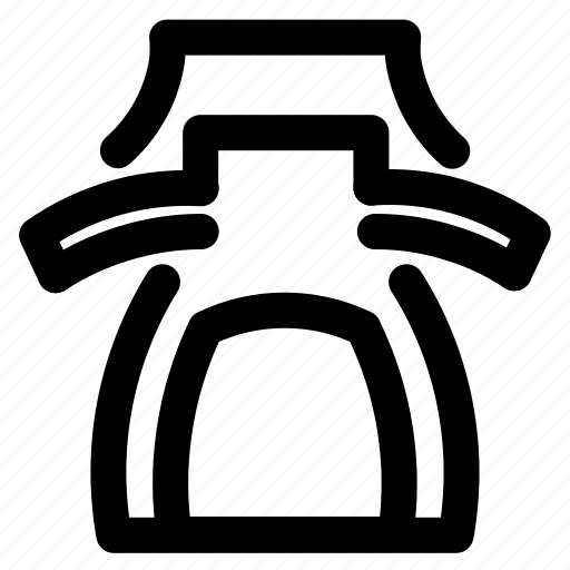 coffe, drink, glass, kitchen, outline icon