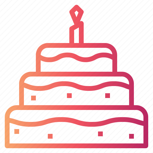 Bakery, birthday, cake, food icon - Download on Iconfinder