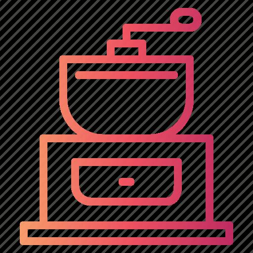 Coffee, coffeegrinder, kitchen, kitchenware icon - Download on Iconfinder