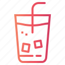 coffee, cold, drink, ice, shop icon