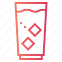 bottle, drink, food, healthy, water icon
