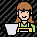 barista, beverage, coffee, drink, service icon