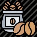 bag, bean, coffee, seed