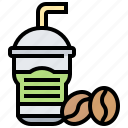 beverage, coffee, drink, glasses, iced icon