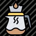 brew, coffee, drip, dripper, jug icon