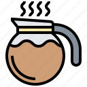 beverage, coffee, jug, pot icon