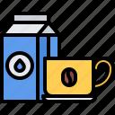 bean, cafe, coffee, cream, cup, drink, milk