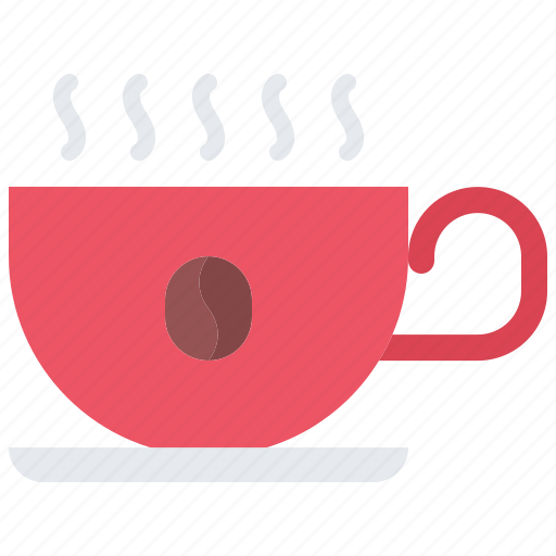 Bean, cafe, coffee, cup, drink, hot, smoke icon - Download on Iconfinder