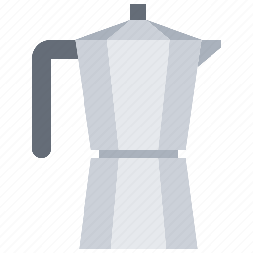 bean, cafe, coffee, drink, kettle, maker icon