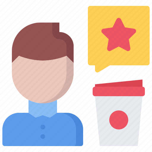 bean, cafe, coffee, cup, drink, review icon