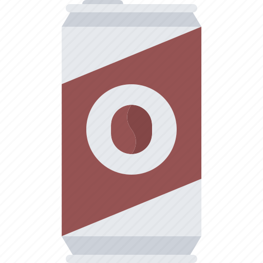 bean, brew, cafe, can, coffee, cold, drink icon