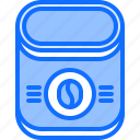 bean, cafe, coffee, drink, instant, jar icon