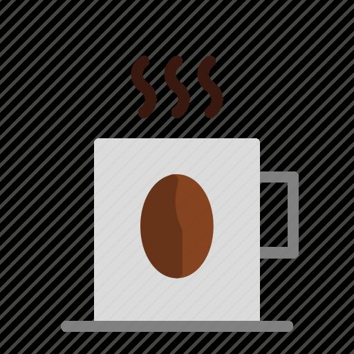 arabica, cafe, caffeine, cappuccino, coffee, coffee beans, espresso icon