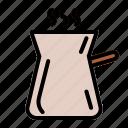 arabica, caffeine, cappuccino, coffee, coffee beans, espresso, roast icon