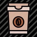 arabica, caffeine, cappuccino, coffee, coffee beans, cup, espresso icon