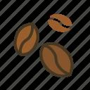 beans, beverage, coffee, food, restaurant icon