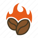 beverage, cafe, coffee, cooking, restaurant, roasting icon