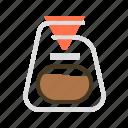 beverage, brew, cafe, coffee, drip, mug icon