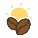 beverage, cafe, coffee, drink, hot, morning icon