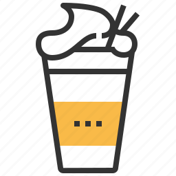 beverage, coffee, drink, juice, shake icon