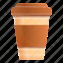 plastic, coffee, cup