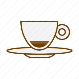 beverage, cafe, caffeine, coffee, cup, drink, ristretto icon