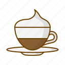 beverage, caffeine, coffee, cup, drink, vienna coffee icon