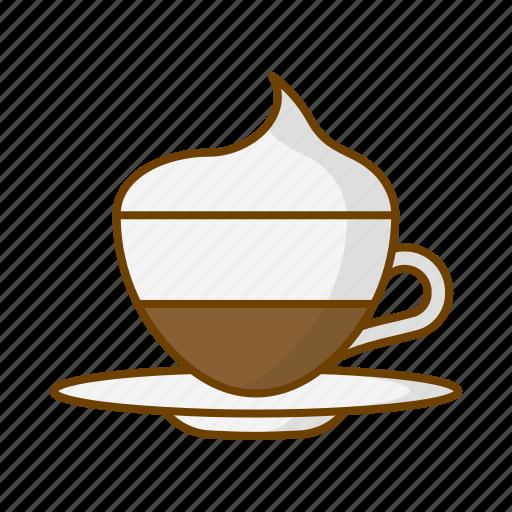 beverage, caffeine, coffee, cup, drink, vienna coffee icon