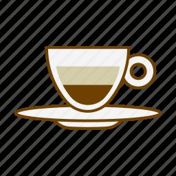 beverage, caffeine, coffee, cup, drink, espresso, macchiato icon