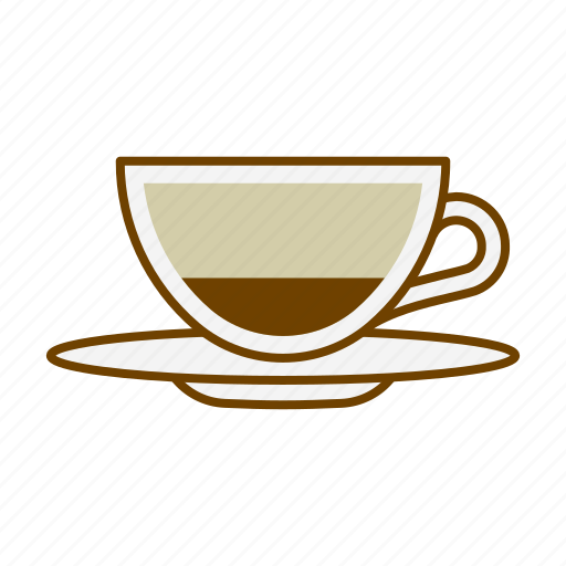 beverage, caffeine, cappuccino, coffee, cup, drink, hygge icon