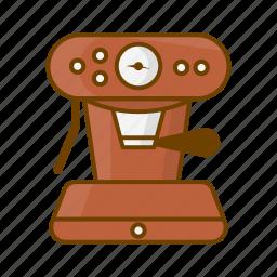 caffeine, coffee, coffee maker, drink, espresso, mashine, presso icon