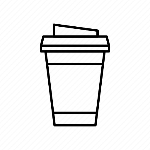 caffeine, coffee, coffee to go, drink, espresso, fast food icon