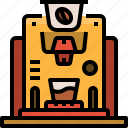 capsule, coffee, machine, maker icon