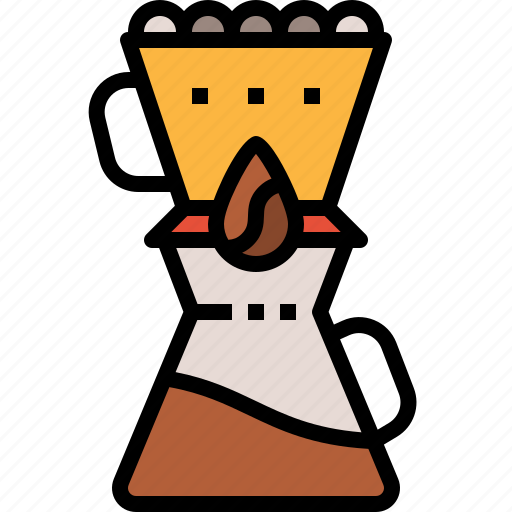coffee, cup, drink, drip icon