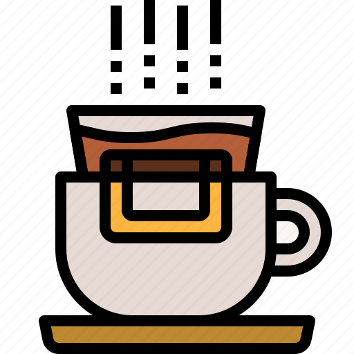 beverage, coffee, cup, drink, drip, hot icon