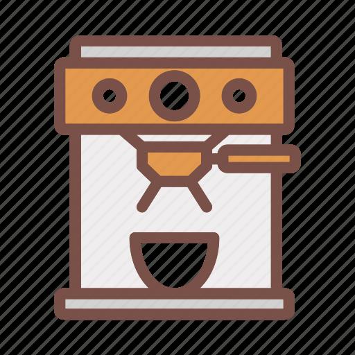 cafe, cappuccino, coffee, cup, drink, espresso, hot icon