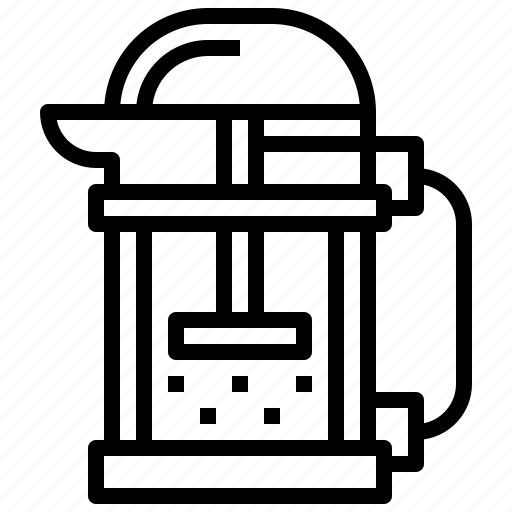 coffee, drink, food, hot, kettle, pot icon