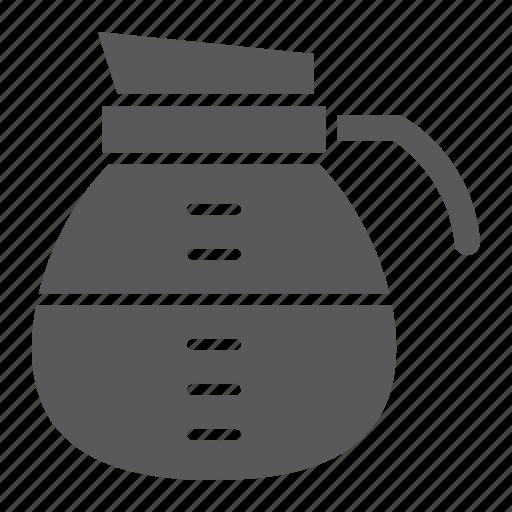 beverage, cafe, coffee, drink, espresso, pot icon