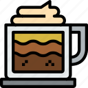 beverage, coffee, cup, drink, glass