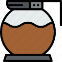beverage, coffee, drink, jar, pot icon