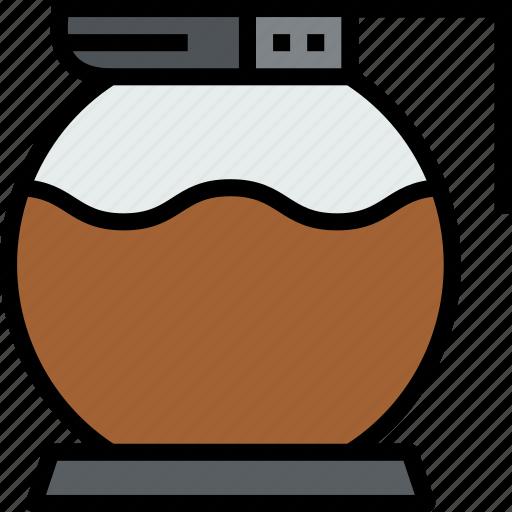 beverage, coffee, drink, jar, pot icon