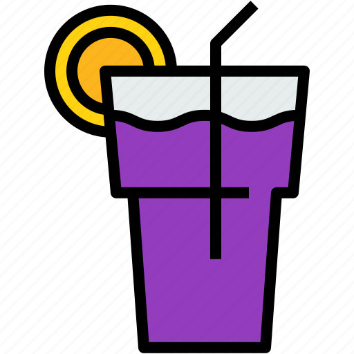 beverage, cool, drink, glass icon
