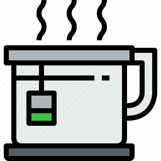 beverage, cup, drink, glass, tea icon